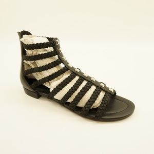 Marc Fisher Open Toe Strappy Gladiator Sandals 9.5